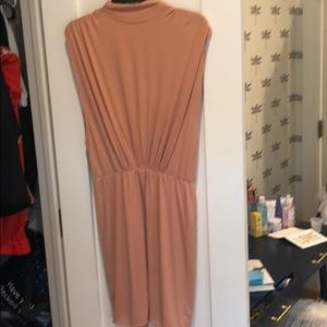 Cotton Candy La midi dress in mauve size large